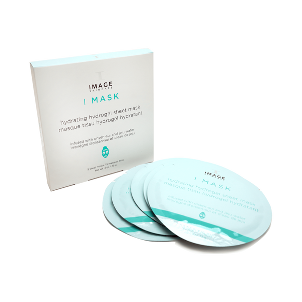 I MASK Hydrating Hydrogel Sheet Mask (5 Pack) 5 Masks - 0.6oz (17g X 5)