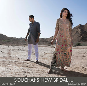 Souchaj's new bridal campaign 'Reflections' is beautiful, gloomy and mysterious thanks to Ali Sethi