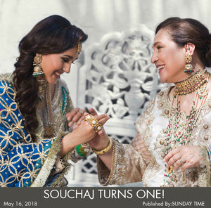 SOUCHAJ TURNS ONE!