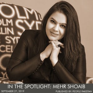 In The Spotlight: Mehr Shoaib