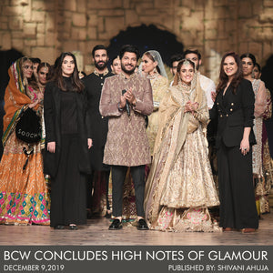 BCW CONCLUDES HIGH NOTES OF GLAMOUR