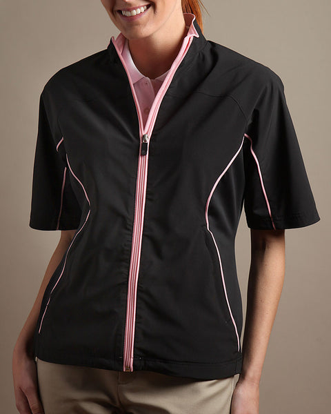 Stretch Tech Half Sleeve Wind Jacket