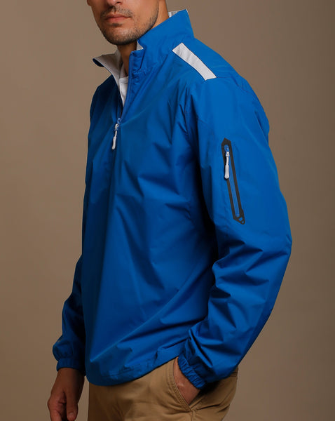 Water Repellent Half Zip Pullover