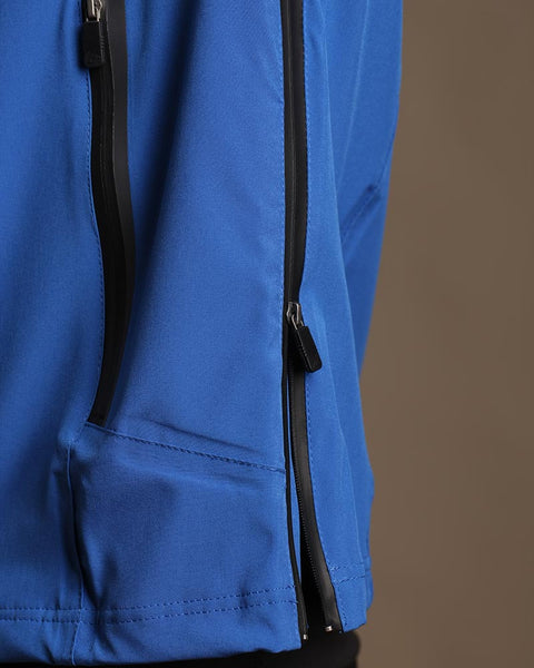 Stretch Tech Vest Convertible Rain Pullover