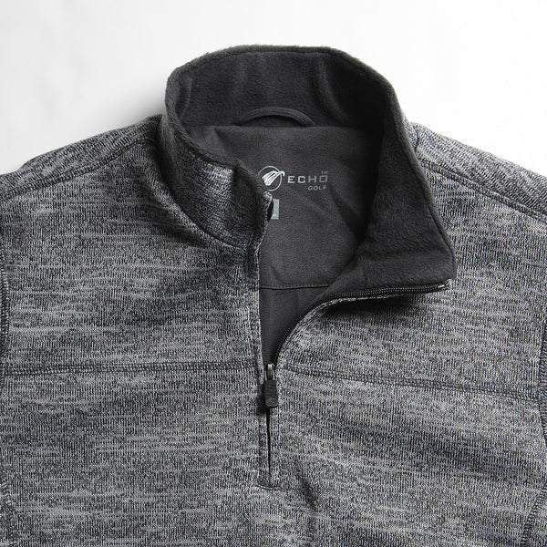 Windproof Lined Quarter Zip Grindle Sweater