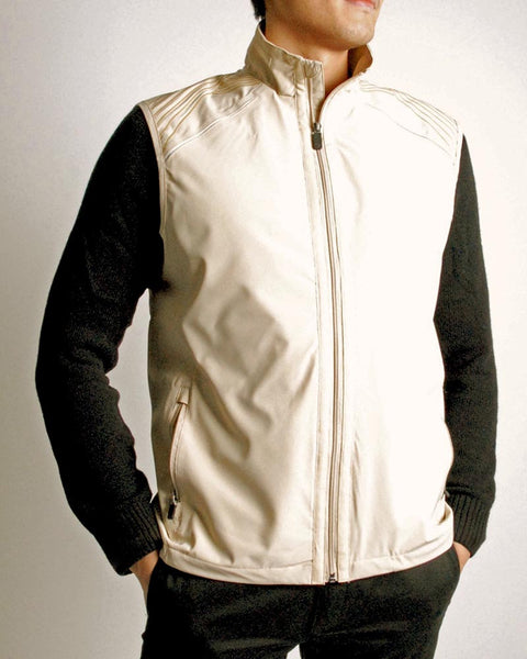 Light Stretch Tech Water Repellent Full Zip Vest