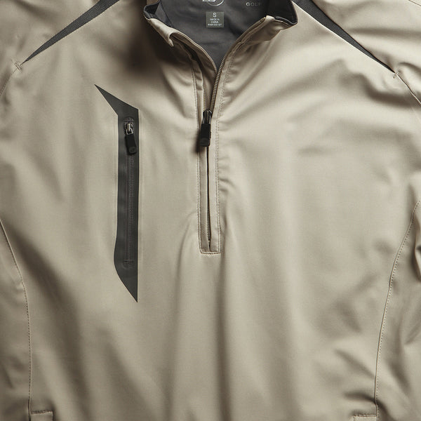 Stretch Tech Water Repellent Pullover with Accent Tapes
