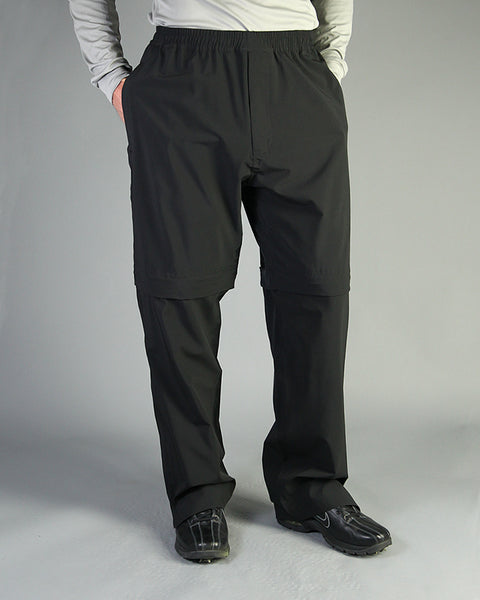 Stretch Tech Shorts Convertible Rain Pants