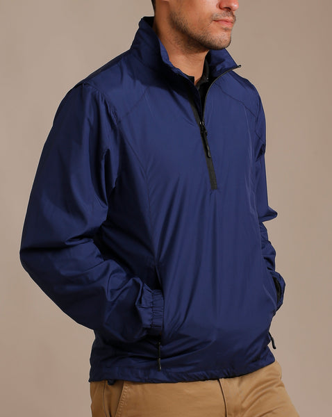 Ultra Light Water Repellent Pullover with Hidden Vented Shoulders