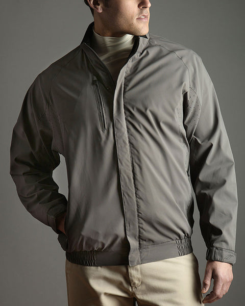 Perforated Water Repellent Wind Jacket