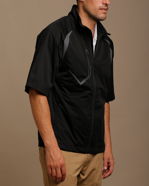 Stretch Tech Water Repellent Half Sleeve Jacket