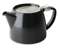 Stump Teapot with Stainless Steel Lid & Infuser 18 oz.
