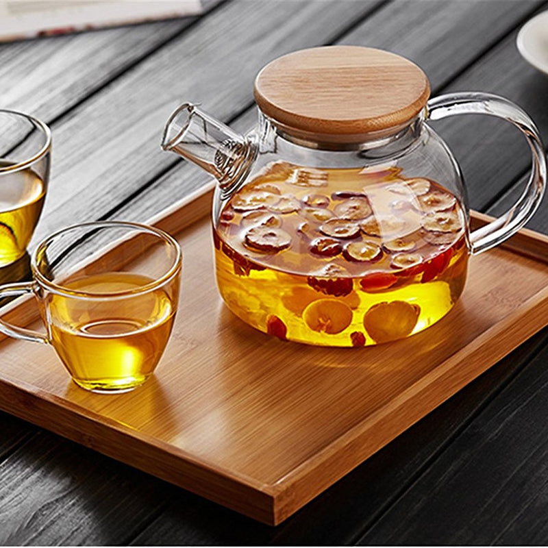 Timeless Moments Bamboo Teapot with Trivet