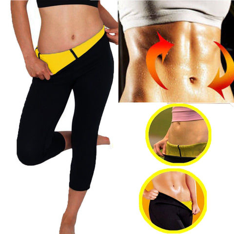 HEYME Hot Body Shaper Neoprene Sauna Sweat Women Slimming Pant Sweat Sauna Body Shaper Neoprene Belt Women Slimming Fat Burning