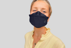 Premium Black Fashionable · Reusable · 2-Layer Face Mask