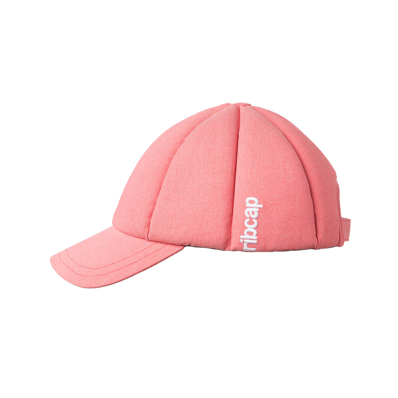 Summer style seizure helmet in rose by Ribcap