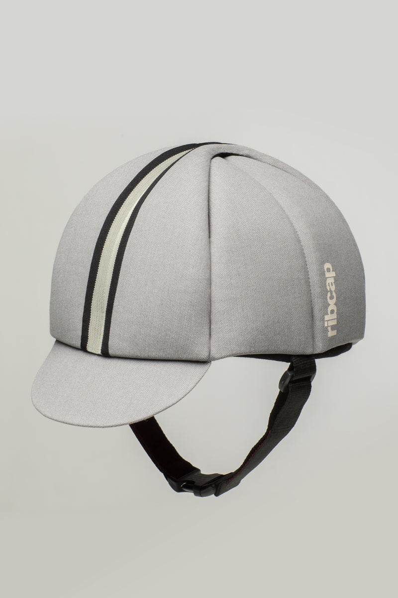 Hardy seizure helmet for adults in platin shade by Ribcap