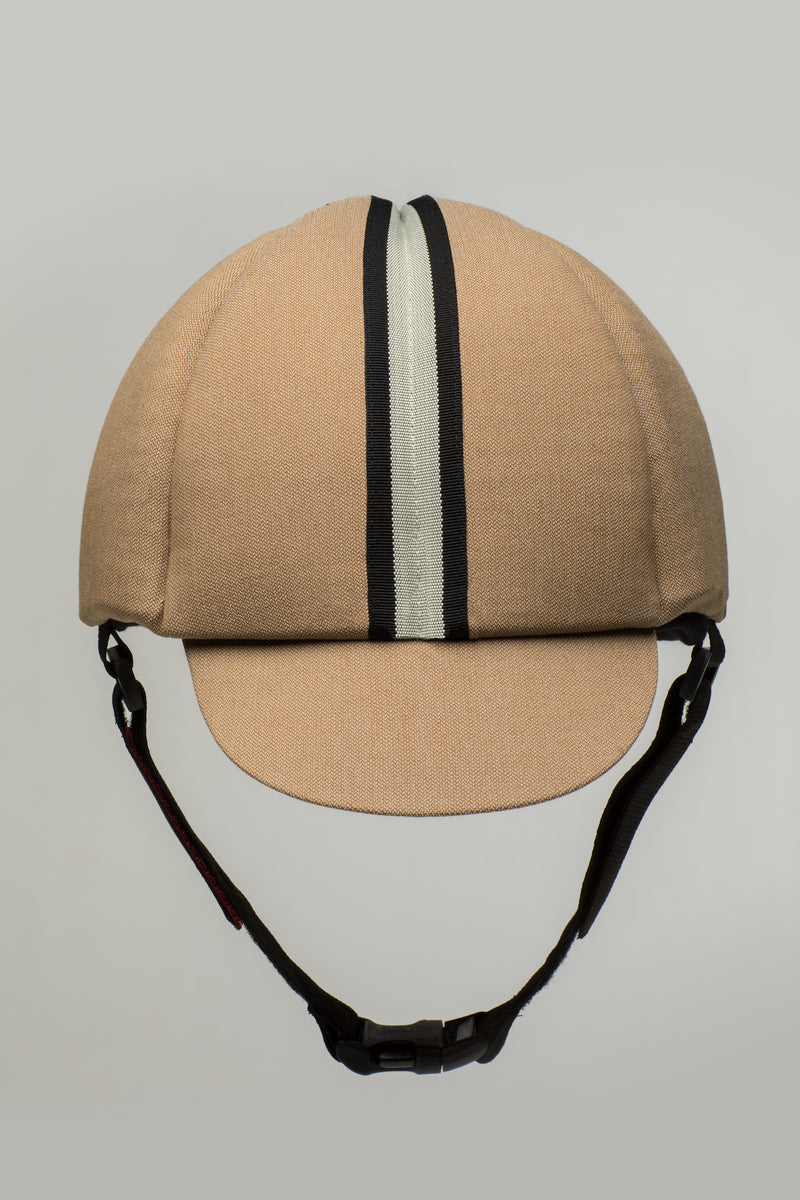 Hardy seizure helmet for adults in sand shade by Ribcap