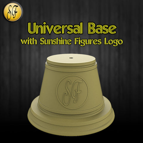 Universal Base with Sunshine Figures Logo