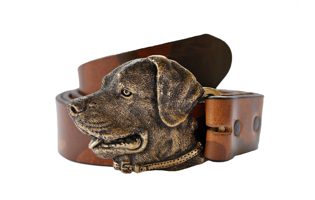 Labrador Retriever Buckle (Shady)