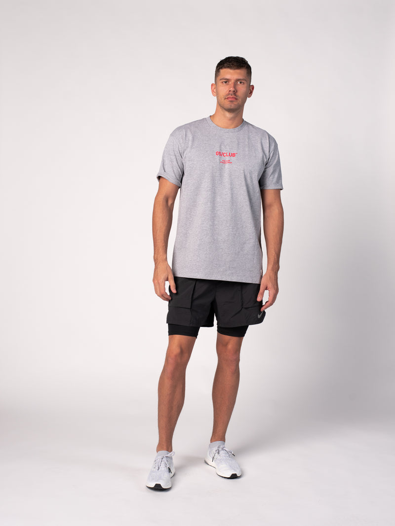 OFFICIAL WARMUP TEE - HEATHER GREY