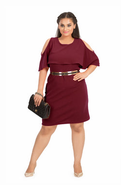 Straight-Fit Party Dress by Afamado