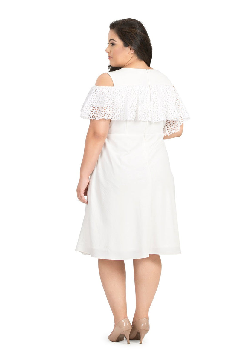 Schiffly Ruffle Dress