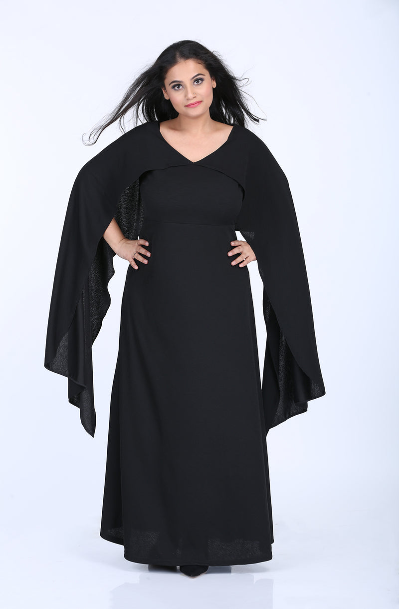 Spirited Sleeves Gown by Afamado