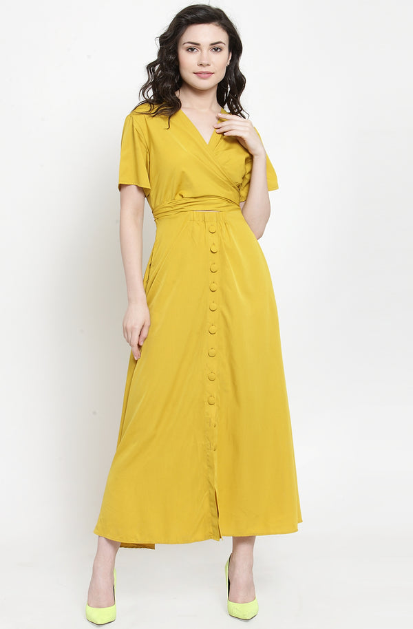 Yellow Sun Kissed Maxi Dress