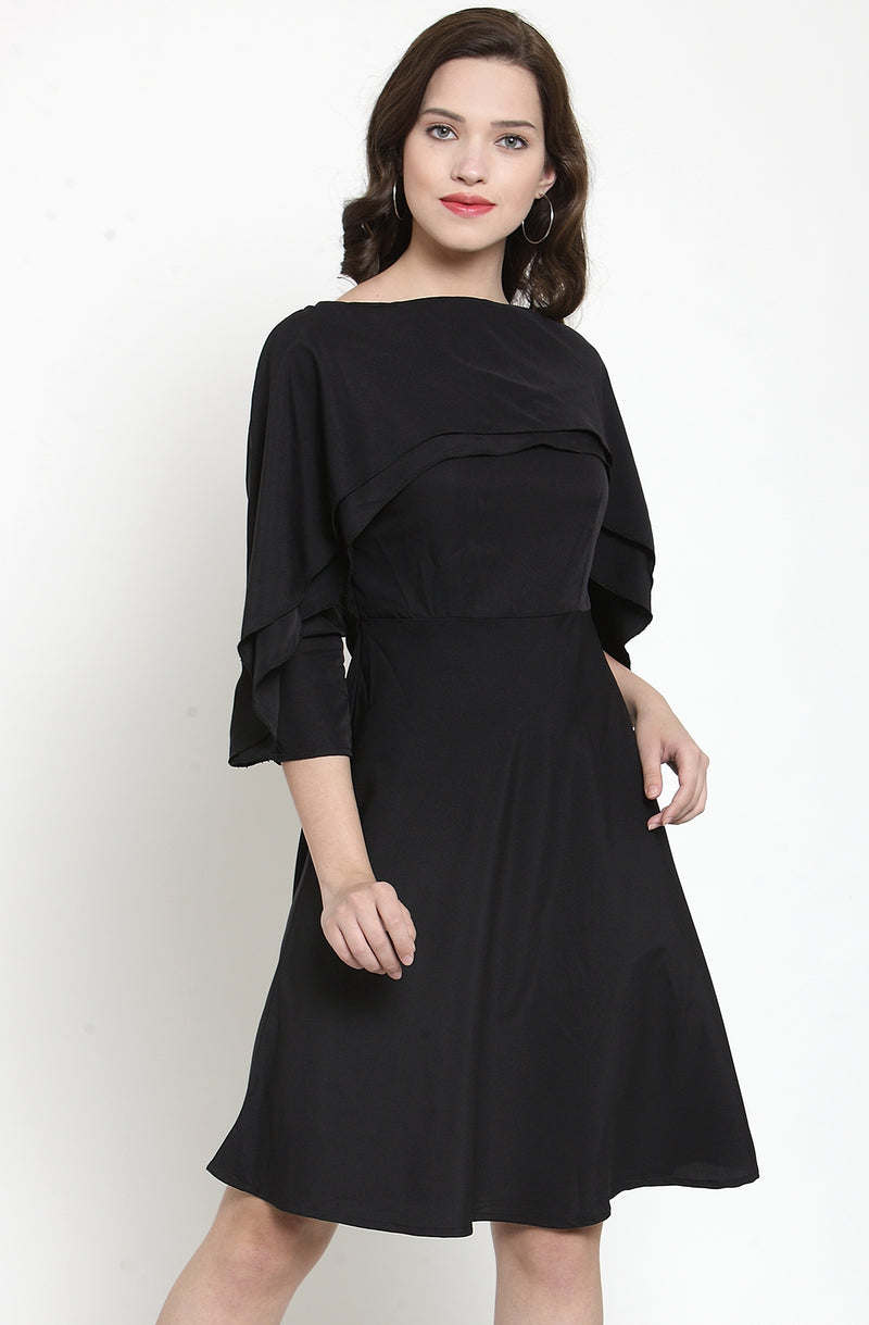 Layered Ruffle Dress