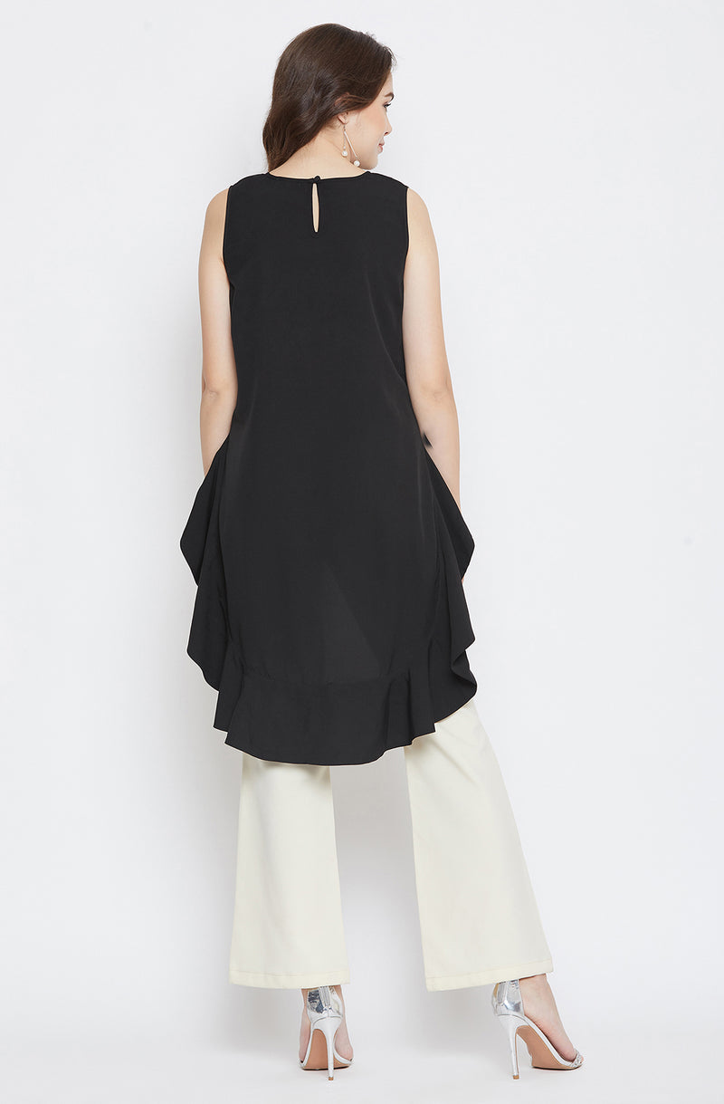 Black Sleeveless Top