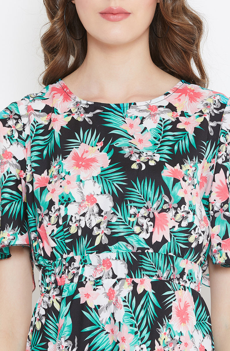 Beach Party Floral Dress