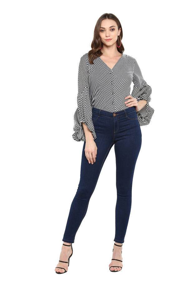 Fit and Flare Casual Top