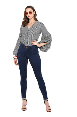 Fit and Flare Casual Top  by Afamado