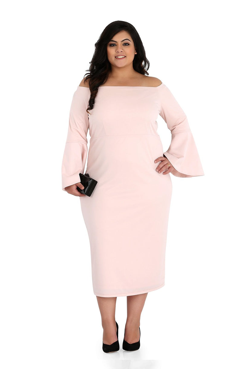 Long Sleeve Bodycon Dress by Afamado