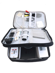 Digital Organizer for Travel, keep all of your digital gadgets and cables safe and organized  (FREE US SHIPPING)