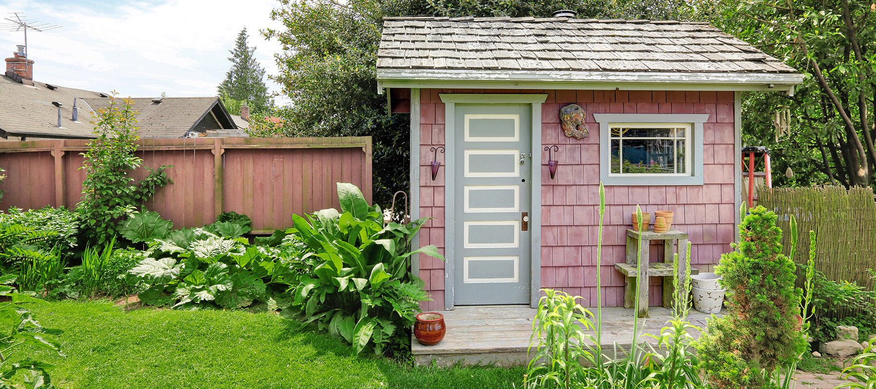 5 Steps to Take Back the Shed