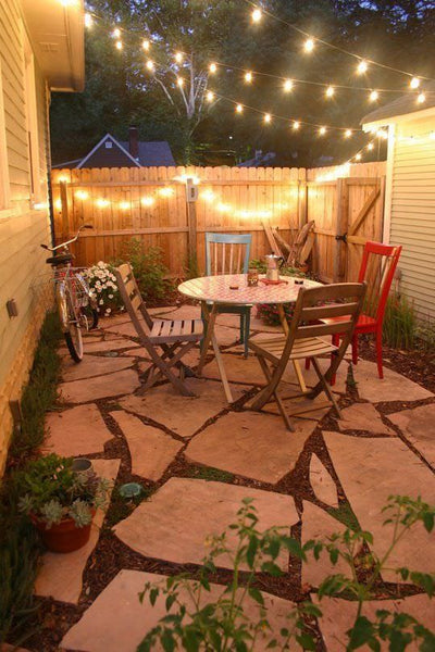 backyard lights outdoor spaces