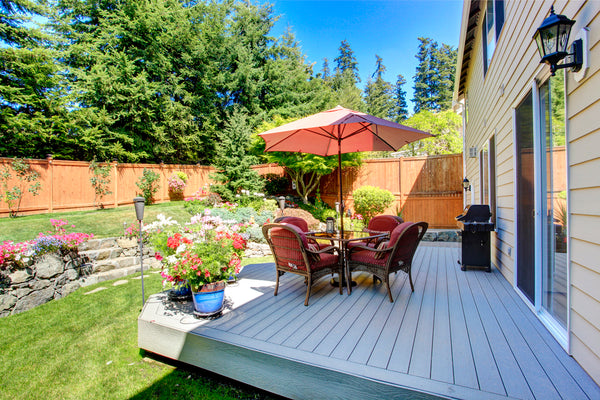 deck yard patio outdoor spaces