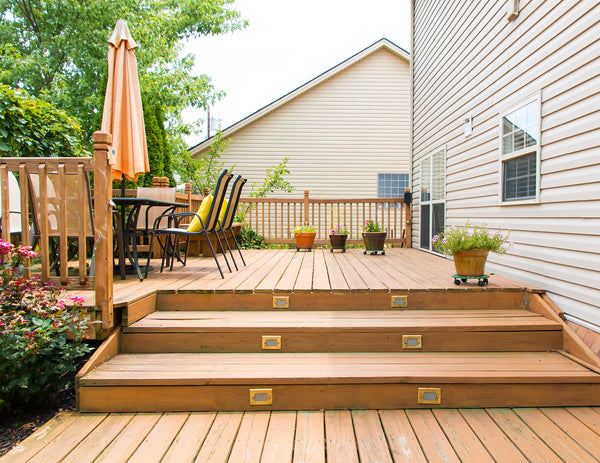 outdoor spaces backyard deck patio