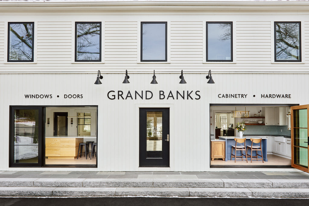 Grand Banks Building Products Showroom Gloucester, MA