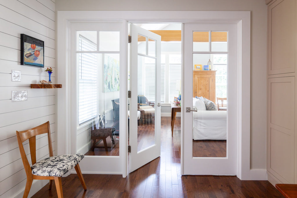 New England Contemporary French Doors