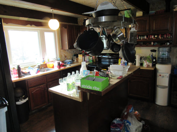 before kitchen renovation photo