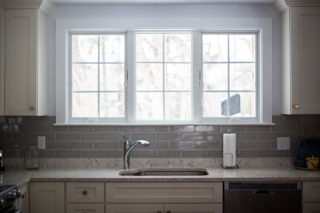 kitchen sink windows medallion cabinetry