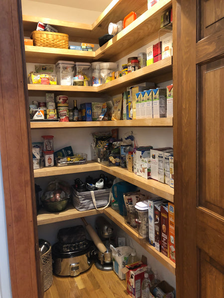 after pantry muffy white organizing styling