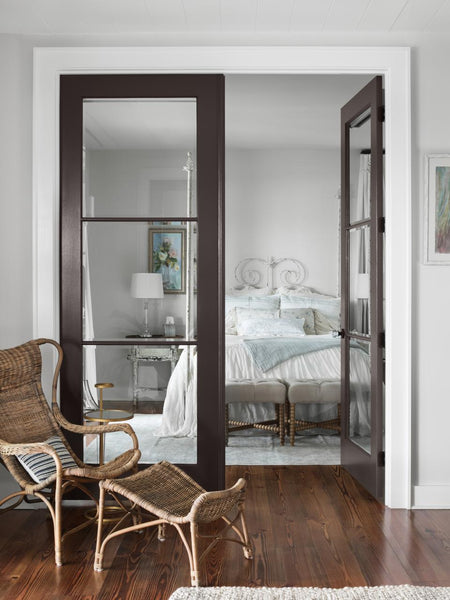 glass french doors trusile