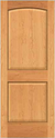 JELD-WEN 0028 Authentic Wood All Panel Interior Door