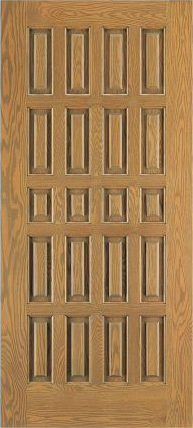 JELD-WEN E0305 Custom Wood All Panel Interior Door