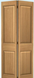 JELD-WEN 44 Authentic Wood Bifold
