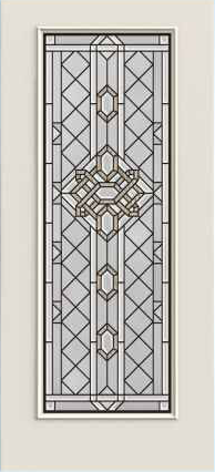 JELD-WEN 686 Steel Glass Panel Exterior Door